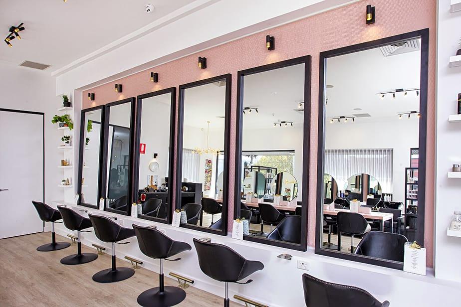 Toscani blow bar hair salon meets cocktail bar comfortel singapore - Bar salon design ...