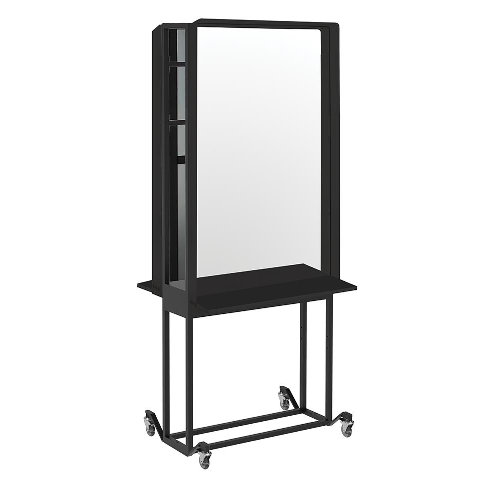 Salon Mirror Joiner Frame With Wheels Option Comfortel